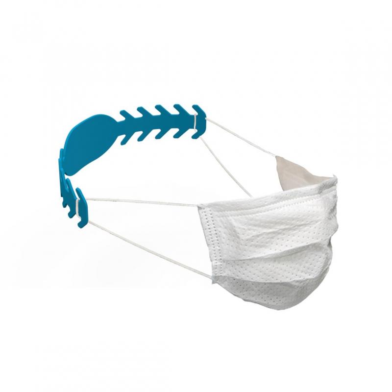 Maskenhalterung Comfort, antibakteriell, hellblau