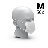 Mund-Nasen-Schutz 3-Ply 50er Set, Größe M