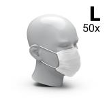 Mund-Nasen-Schutz 3-Ply 50er Set, Größe L